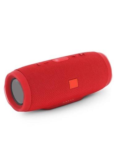Platoon PL-4148 Bluetooth Speaker Fm/Sd/Usb Kırmızı